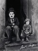 Poster Charlie Chaplin and the Kid (61x91.5cm)
