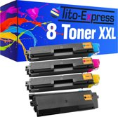 PlatinumSerie® 8 toner XXL alternatief voor Kyocera Mita TK-580