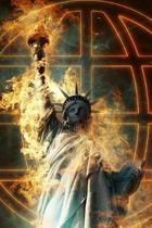 The Statue of Liberty Aflame Journal