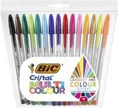 BIC Cristal Multicolour Stick balpen 15 stuk(s)