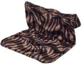 Radiator hangmat Bonfire zebra zwart/bruin