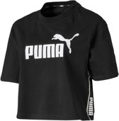 Puma Sportshirt - Maat L  - Vrouwen - zwart/ wit