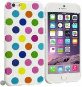 Movizy Polkadot iPhone 6 cover - wit multicolour