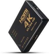 4K Ultra HD 2K Full HD 3D Ondersteuning 3 Poorts HDMI Switch Inclusief Afstandsbediening
