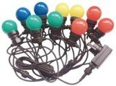 V-tac VT-71020 LED Prikkabel 10 meter met stekker, Incl. 20x 0,5w LED Lampen, RGBY, 600 Lumen, IP44