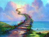 Diamond Painting Pakket Stairway to Heaven - FULL - Diamond Paintings - 30x40 cm - SEOS Shop ®