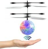 Handbestuurbare vliegende HELI BAL met DISCO LED verlichting - Geweldig speelgoed!