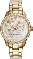 Esprit ES109352002 Horloge - Staal - Goudkleurig - Ø 34 mm