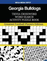 Georgia Bulldogs Trivia Crossword Word Search Activity Puzzle Book