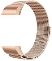 siston Milanees bandje - Fitbit Charge 2 - Rose Gold - Small