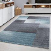 Lucca - Vloerkleed - Blauw - 200 x 290 cm