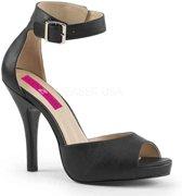 Pleaser Pink Label Hoge hakken -45 Shoes- EVE-02 Zwart