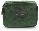 Essenza Make-up Tas Lucy Velvet Green
