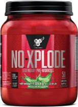 BSN N.O.-XPLODE® 3.0 - Pre-workout - 50 servings - Green Apple