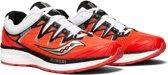 Saucony Triumph ISO 4 Hardloopschoenen - Maat 38 - Vrouwen - rood/wit/zilver/zwart