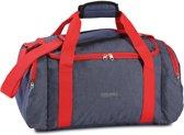 Fabrizio Sporttas Worldpack 52 Liter Blauw/rood