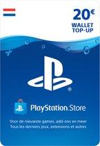 20 euro PlayStation Store tegoed - PSN Playstation Network Kaart (NL)