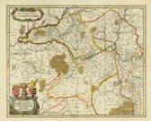 Historische Karte: Das Fürstentum Anhalt und das Erzbistums Magdeburg 1647 - Plano