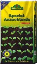 Bioflor Speciale zaai- en stekgrond 5Ltr. - speciale grond voor kiemen en voor stekken