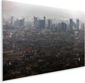 Uitzicht over de miljoenstad Lima Plexiglas 180x120 cm - Foto print op Glas (Plexiglas wanddecoratie) XXL / Groot formaat!