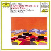 Bizet: L'Arlesienne Suites, Carmen Suite no 1 / Abbado, LSO