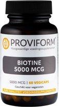 Proviform Biotine 5mg - 60 Capsule - Vitaminen