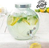 Drankdispenser - Limonadekan - Waterdispenser - Glas - 5 Liter