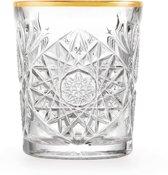 Waterglas met gouden rand Libbey Hobstar 35 cl - 12 stuk(s)