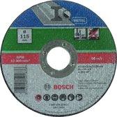 Bosch doorslijpschijf - metaal - 115 X2,5 recht