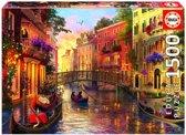 Educa Zonsondergang in Venetië - 1500 stukjes