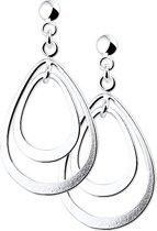 The Jewelry Collection Oorhangers - Zilver
