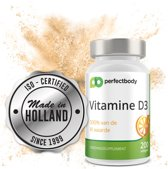 Vitamine D3 - 25mcg - 200 gelcapsules van Supreme Nutrition