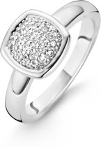 TI SENTO Milano Ring 12064ZI - Maat 52 (16.50 mm) - Gerhodineerd Sterling Zilver