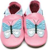 Inch Blue babyslofjes papillon rose pink