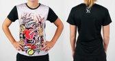 Bones Sportswear Dames T-shirt Tattoo Heart maat XL