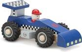 Raceauto - Blauw