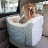 Snoozer Lookout - Autostoel - Autozitje voor honden - Large 76 cm - Grijs - Met lade