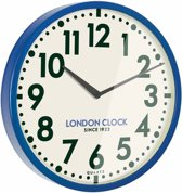 London clock Schoolklok - Tempest - Blauw