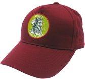 Lauren Rose Pet Indian First Nations Burgundy Snapback cap