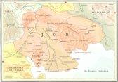 Kaart Atlas van het bijbelse continent - Job