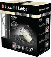 Russell Hobbs 25202-56 Retro Hand Mixer - Creme