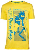 Rick and Morty - Crazy Crap Men's - T-shirt - S