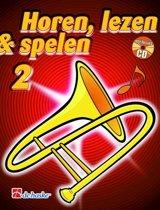 Horen Lezen & Spelen deel 2 voor Trombone Bassleutel (Boek met Cd)