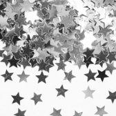 Tafelconfetti Ster Zilver 1cm 600 stuks