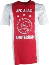 Ajax t-shirt Heren - wit/rood/wit - maat XL