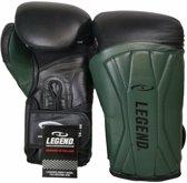Legend Power Special Bokshandschoenen Zwart/Groen 14OZ