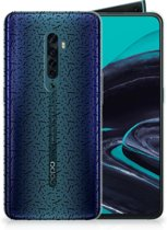 OPPO Reno 2 TPU bumper Stripes Dots