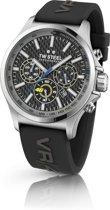 TW Steel TW938 VR46 Pilot Edition - Horloge -  Rubber - 45 mm - Zwart