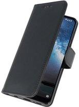 Wicked Narwal | bookstyle / book case/ wallet case Wallet Cases Hoes voor Nokia 2.2 Zwart