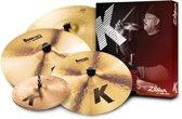"""K' Cymbal Set, 14""""HH, 16""""+18""""CR, 20""""R"""